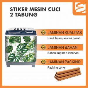 Sticker Mesin Cuci