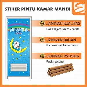 Sticker Pintu Kamar Mandi
