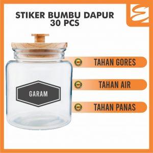 Sticker Label Bumbu
